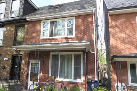 Townhouse for sale at 342 Indian Road Cres Toronto Ontario - MLS: W4506657