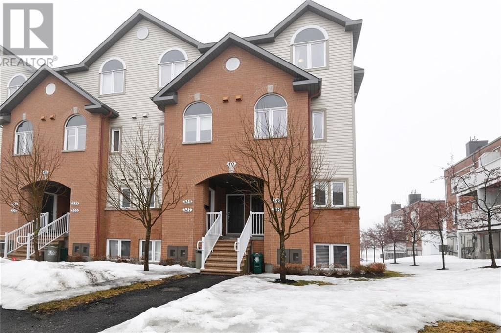 House for sale at 49 Jardin Pt Unit 343 Ottawa Ontario - MLS: 1187287