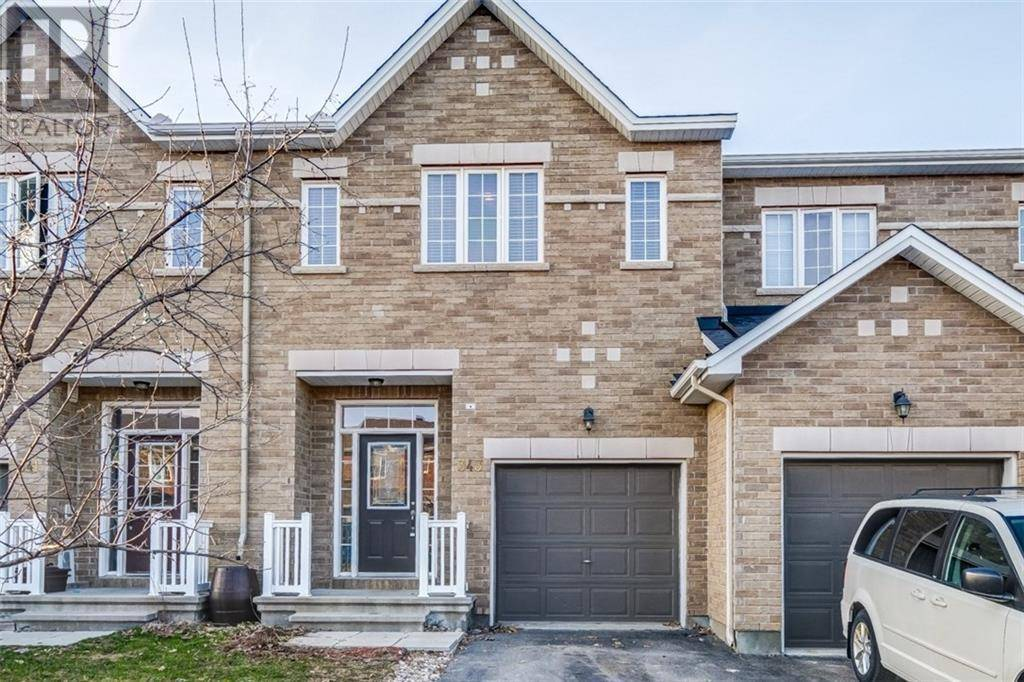 Townhouse for sale at 343 Kingbrook Dr Ottawa Ontario - MLS: 1188428