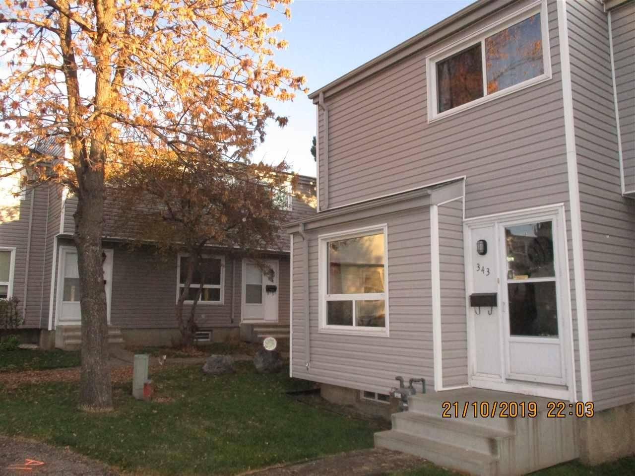 Townhouse for sale at 343 Northgate Te Nw Edmonton Alberta - MLS: E4177737