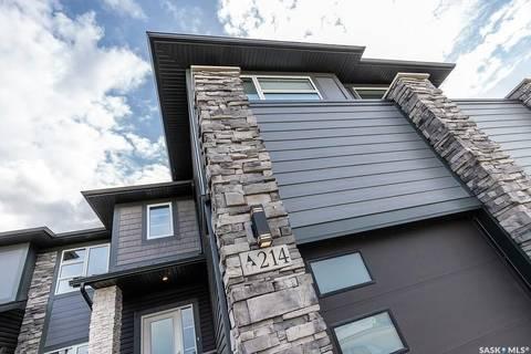 Townhouse for sale at 344 Brighton Gt Saskatoon Saskatchewan - MLS: SK801181