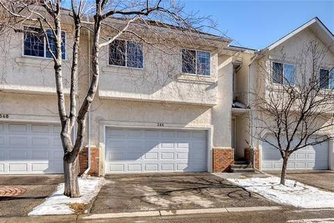 Townhouse for sale at 344 Prominence Ht Southwest Calgary Alberta - MLS: C4293057