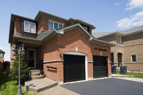 Townhouse for sale at 3443 Mcdowell Dr Mississauga Ontario - MLS: W4537577
