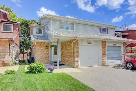 Townhouse for sale at 3449 Woodhurst Cres Mississauga Ontario - MLS: W4866806