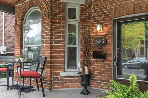 Townhouse for sale at 345 Clinton St Toronto Ontario - MLS: C4466563