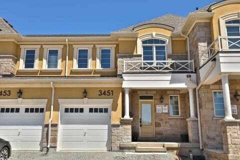 Townhouse for sale at 3451 Eternity Wy Oakville Ontario - MLS: W4767285