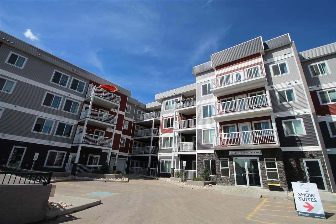 Condo for sale at 1818 Rutherford Rd SW Unit 346 Edmonton Alberta - MLS: E4217541