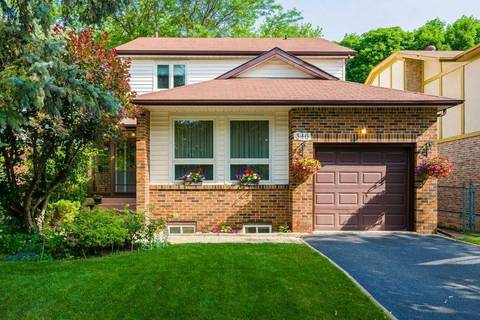 House for sale at 346 Huntsmill Blvd Toronto Ontario - MLS: E4512704
