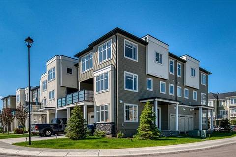 Townhouse for sale at 346 Windford Green Southwest Airdrie Alberta - MLS: C4253135