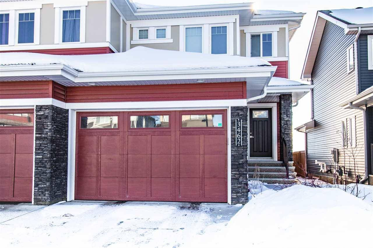 Townhouse for sale at 3462 Weidle Wy Sw Edmonton Alberta - MLS: E4186812