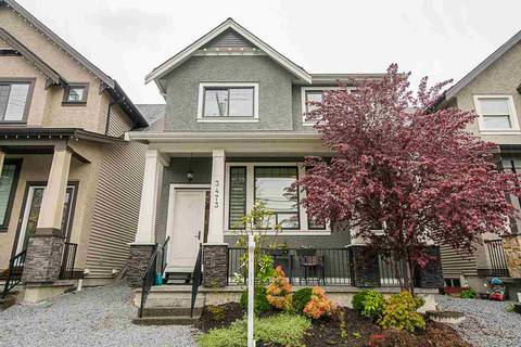 House for sale at 3473 Victoria Dr Coquitlam British Columbia - MLS: R2361904