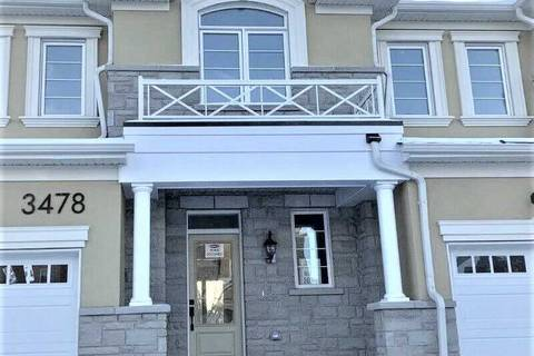 Townhouse for rent at 3478 Vernon Powell Dr Oakville Ontario - MLS: W4649653