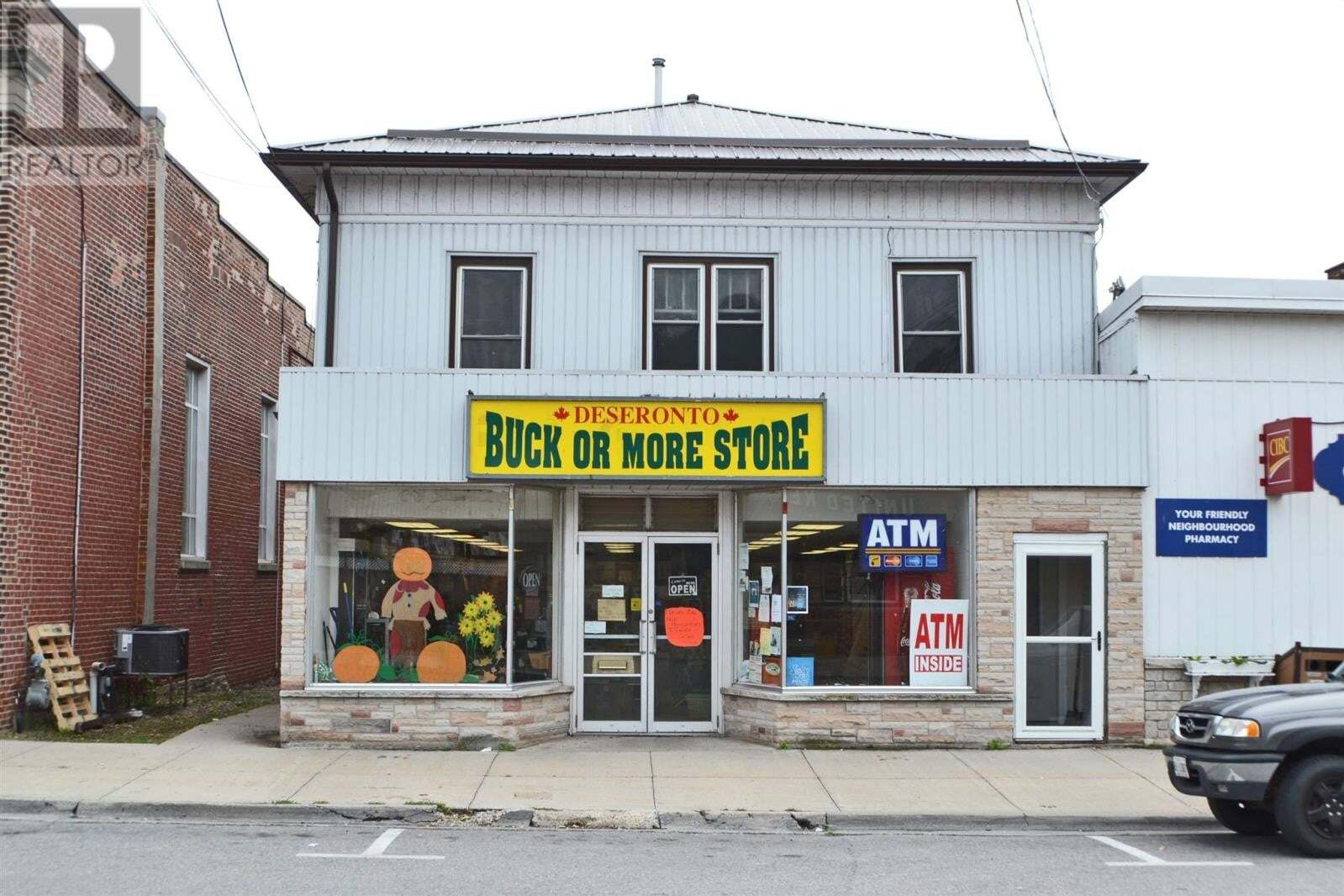Commercial property for sale at 348 Main St Deseronto Ontario - MLS: K20005314