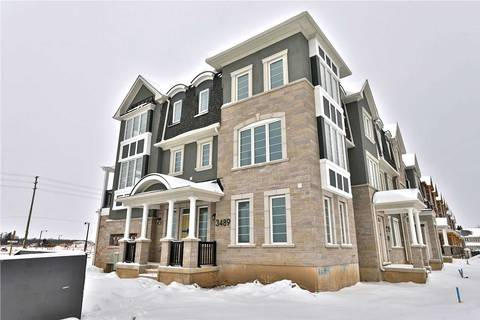 Townhouse for rent at 3489 Vernon Powell Dr Oakville Ontario - MLS: W4688568