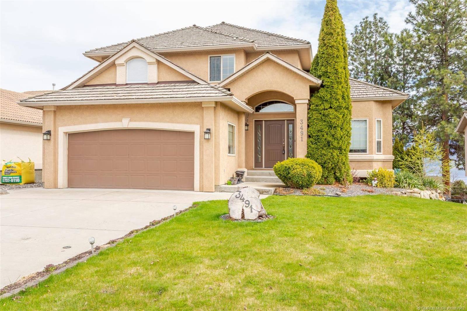House for sale at 3491 Ridge Blvd West Kelowna British Columbia - MLS: 10187962