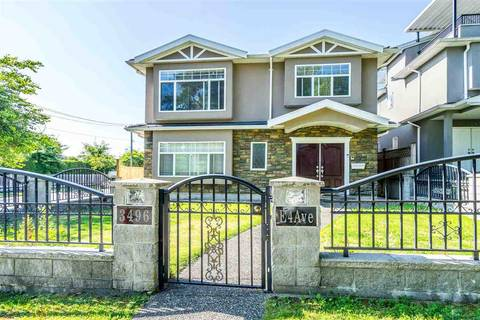 House for sale at 3496 4th Ave E Vancouver British Columbia - MLS: R2428019