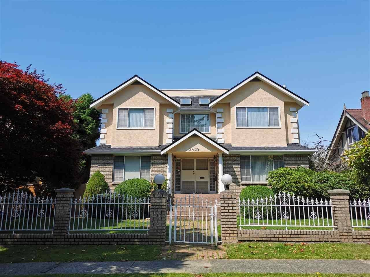 House for rent at 2439 West 34th Ave West Unit 34th Vancouver British Columbia - MLS: R2394264
