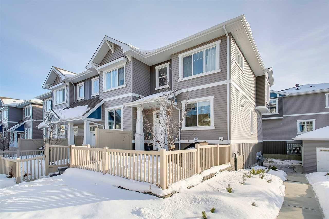 Townhouse for sale at 1140 Chappelle Blvd Sw Unit 35 Edmonton Alberta - MLS: E4187278