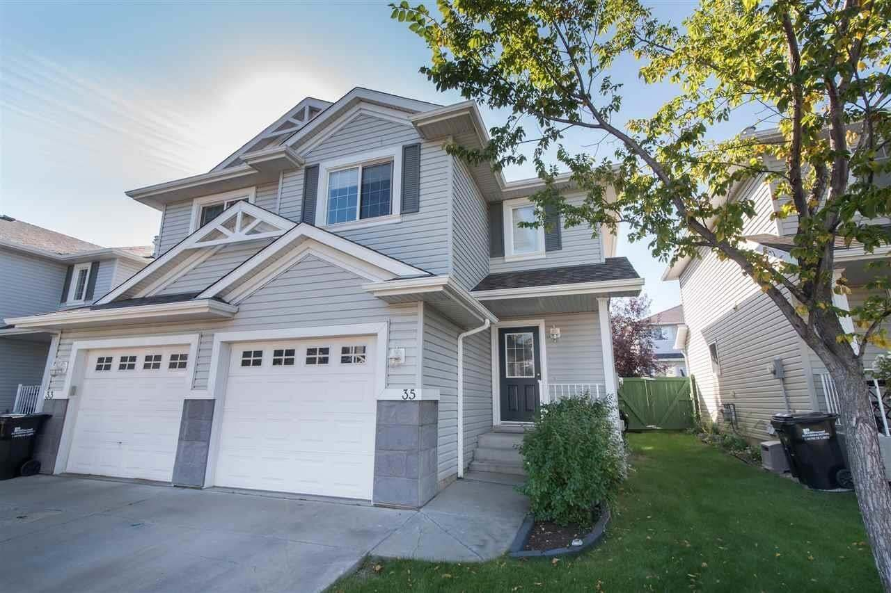 Townhouse for sale at 115 Chestermere Dr Unit 35 Sherwood Park Alberta - MLS: E4214080