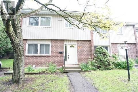 Townhouse for sale at 121 University Ave East Unit 35 Waterloo Ontario - MLS: 30744794