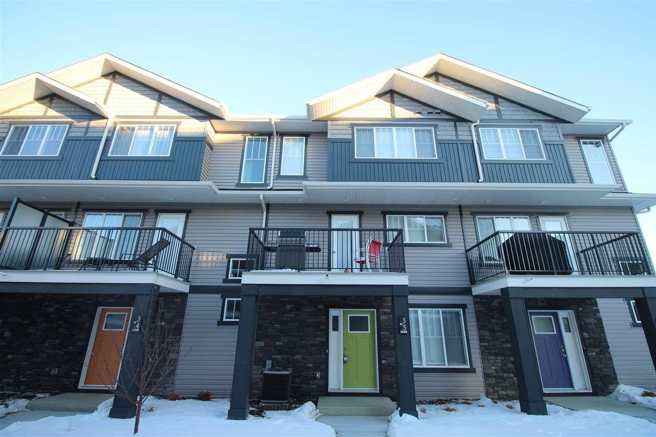 Townhouse for sale at 12815 Cumberland Rd NW Unit 35 Edmonton Alberta - MLS: E4208445