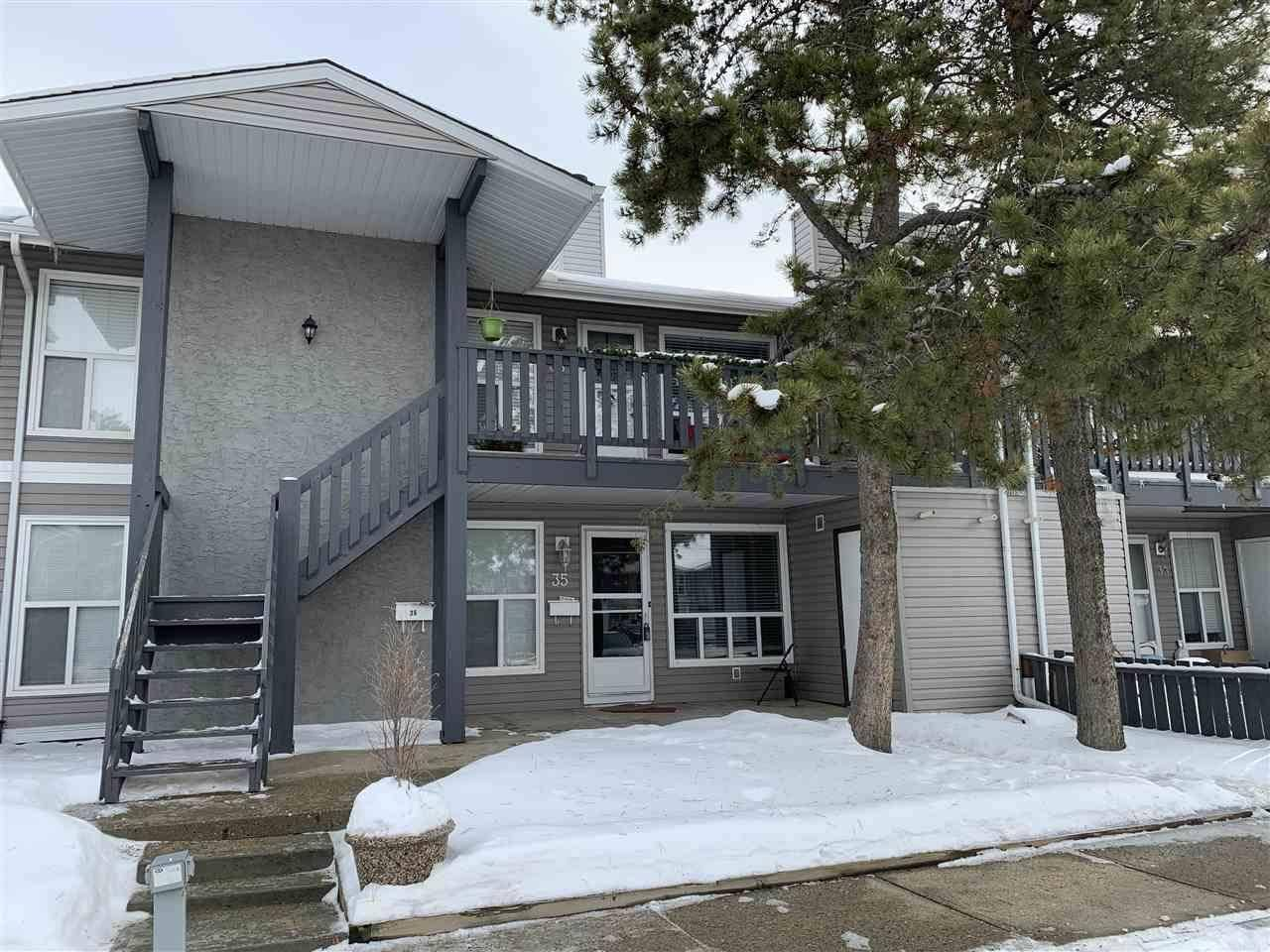 Townhouse for sale at 1503 Mill Woods Rd Nw Unit 35 Edmonton Alberta - MLS: E4185884