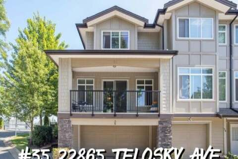 Townhouse for sale at 22865 Telosky Ave Unit 35 Maple Ridge British Columbia - MLS: R2485521