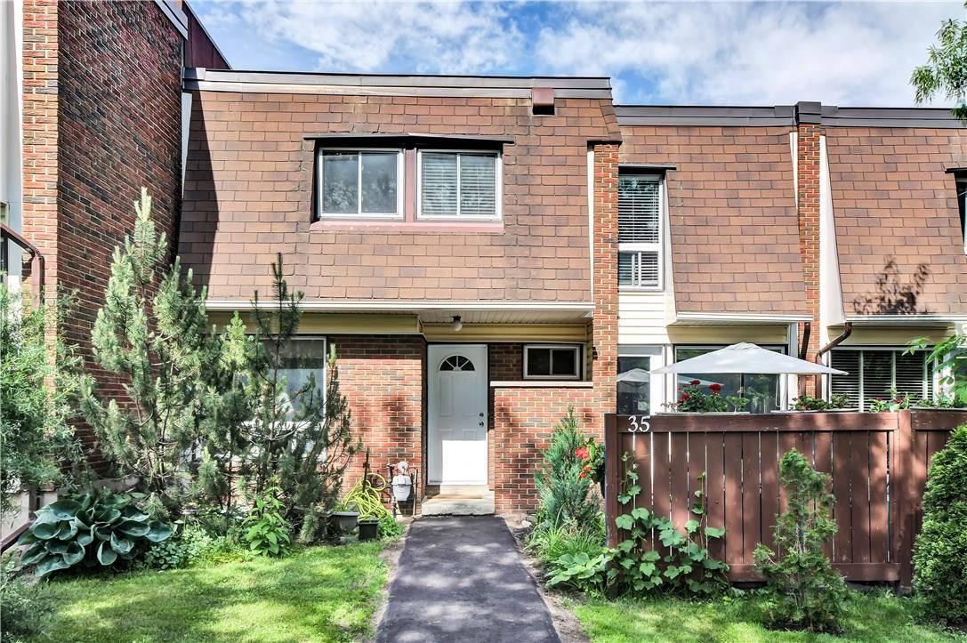 Townhouse for sale at 2939 Fairlea Cres Unit 35 Ottawa Ontario - MLS: 1158425