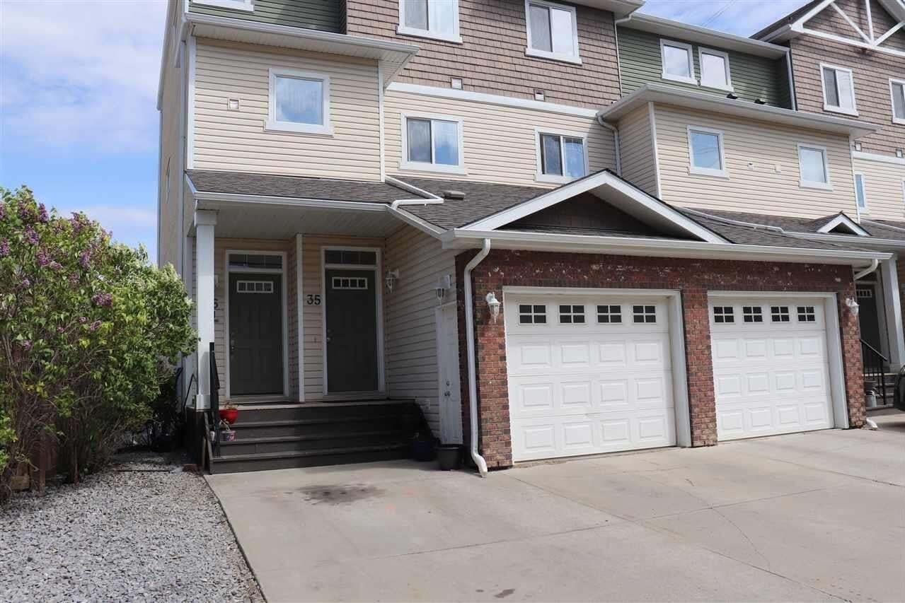 Townhouse for sale at 3010 33 Av NW Unit 35 Edmonton Alberta - MLS: E4200437