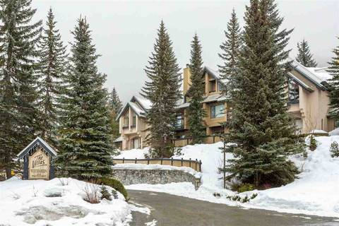 Townhouse for sale at 4725 Spearhead Rd Unit 35 Whistler British Columbia - MLS: R2436546