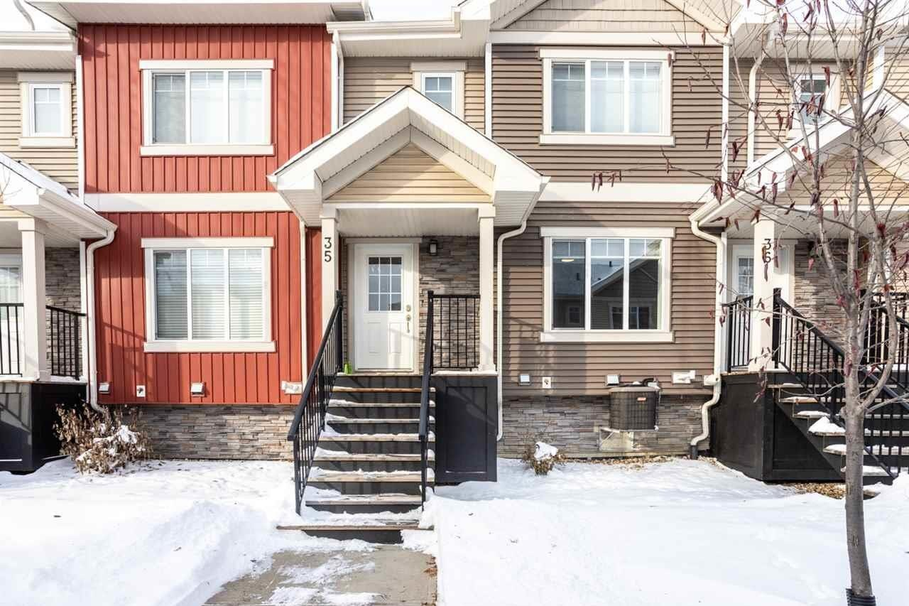 Townhouse for sale at 675 Albany Wy NW Unit 35 Edmonton Alberta - MLS: E4221023