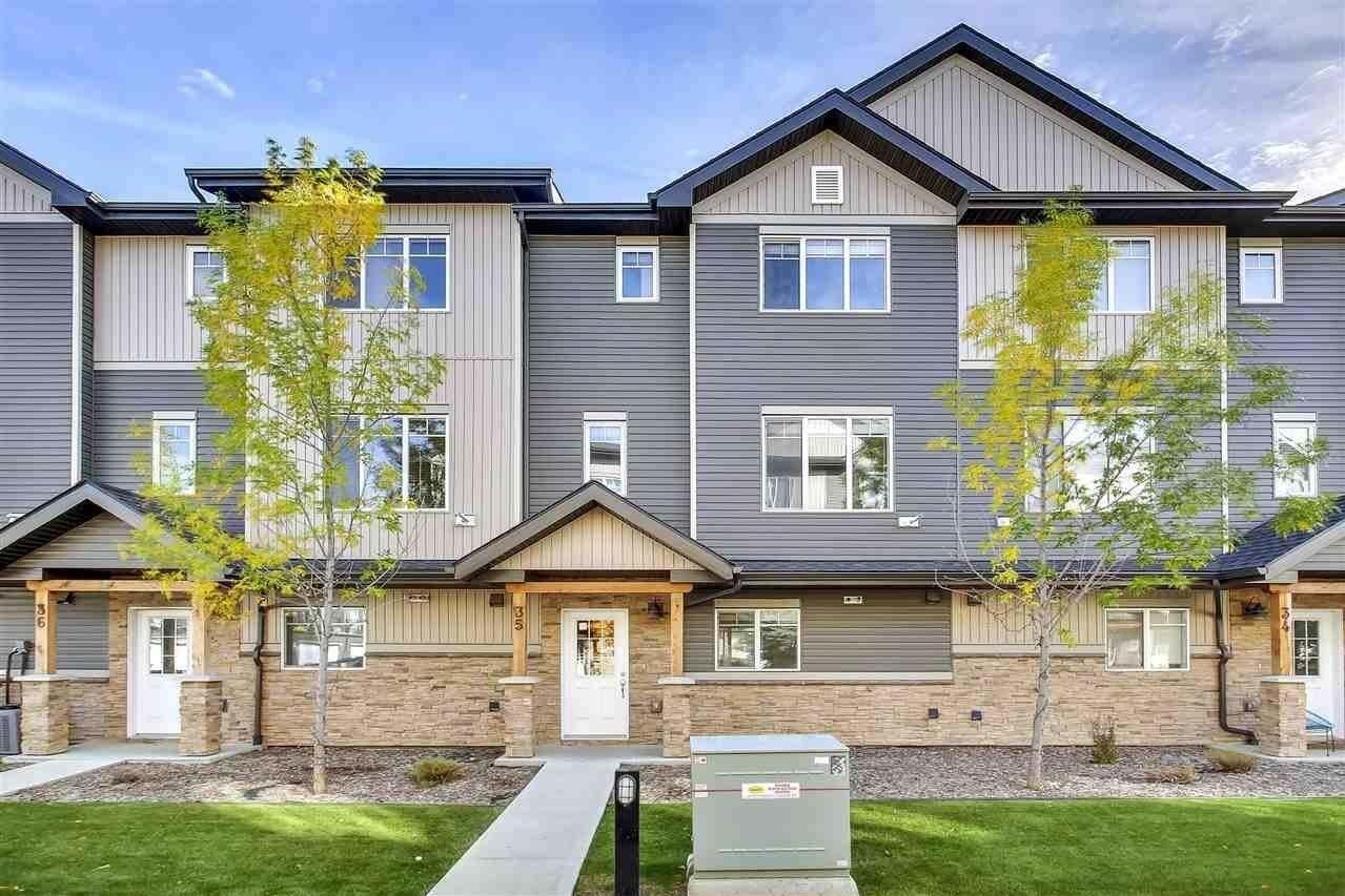 Townhouse for sale at 9515 160 Av NW Unit 35 Edmonton Alberta - MLS: E4216055
