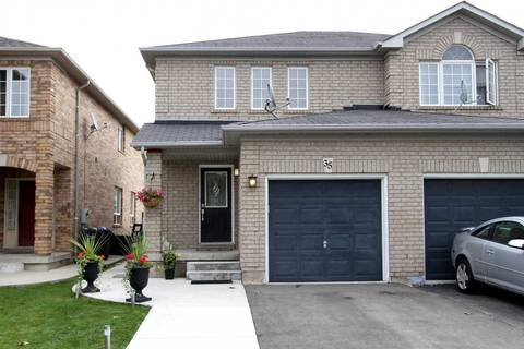 Townhouse for sale at 35 Ancestor Dr Brampton Ontario - MLS: W4602325