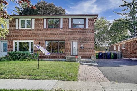 Townhouse for sale at 35 Clydesdale Dr Toronto Ontario - MLS: C4606483