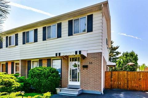 Townhouse for sale at 35 Fallingdale Cres Brampton Ontario - MLS: W4499310