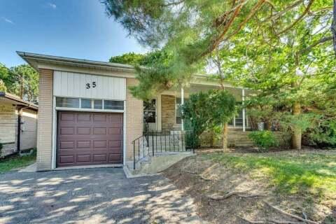 House for sale at 35 Foxwarren Dr Toronto Ontario - MLS: C4908223