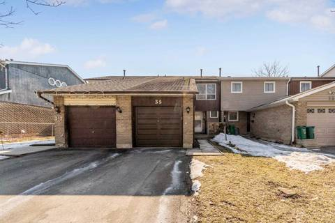 Townhouse for sale at 35 Gilmore Dr Brampton Ontario - MLS: W4390142