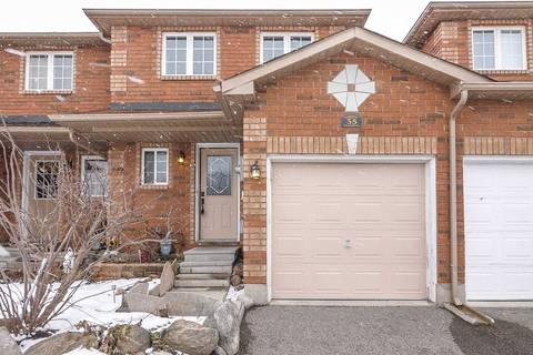 Townhouse for sale at 35 Goodwin Dr Barrie Ontario - MLS: S4385531