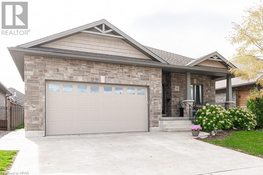 House for sale at 35 Greenberg Pl Stratford Ontario - MLS: 40036712