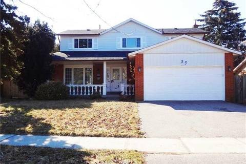 House for rent at 35 Hamilton Hall Dr Markham Ontario - MLS: N4599772