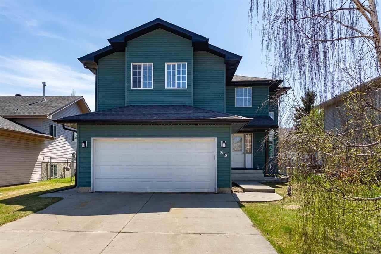 House for sale at 35 Highridge Wy Stony Plain Alberta - MLS: E4197756