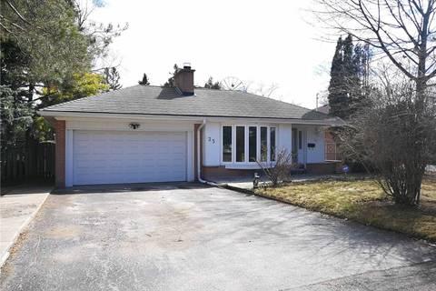 House for rent at 35 Hopperton Dr Toronto Ontario - MLS: C4542965