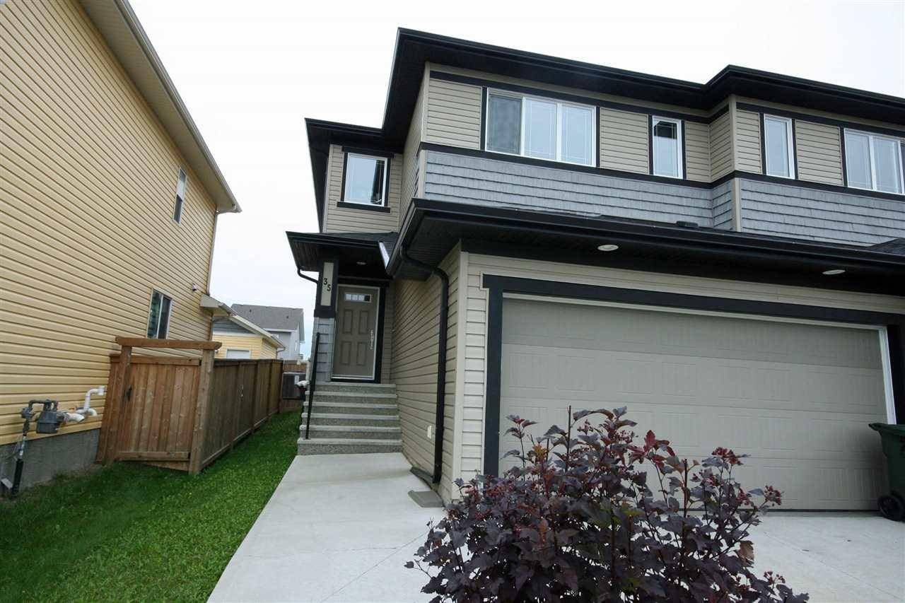Townhouse for sale at 35 Hudson Cove Spruce Grove Alberta - MLS: E4169743