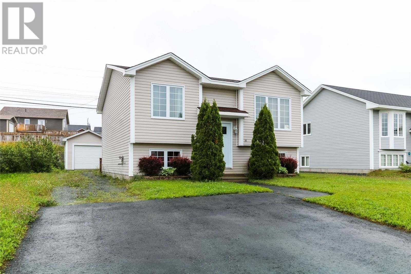 House for sale at 35 Lanark Dr Paradise Newfoundland - MLS: 1217056