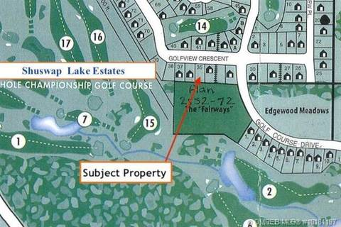 Residential property for sale at 0 Golf View Cres Unit 35 Blind Bay British Columbia - MLS: 10181197