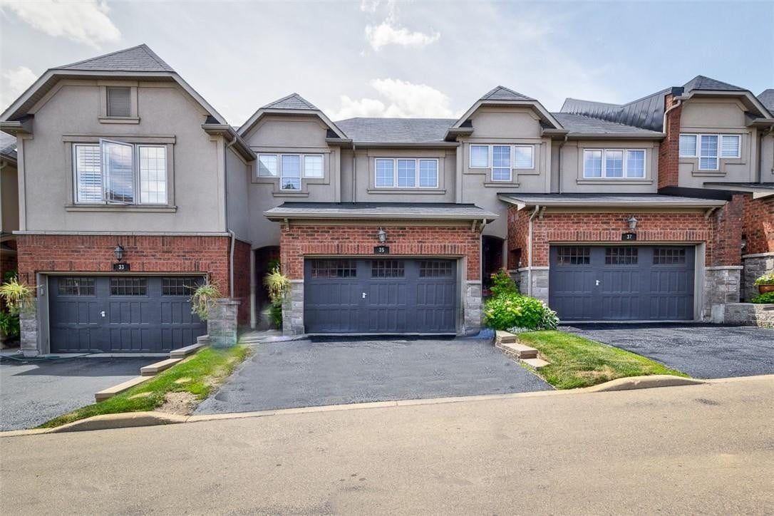 Townhouse for sale at 35 Oakhaven Pl Ancaster Ontario - MLS: H4081535