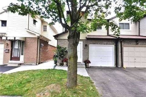 Townhouse for rent at 35 Snapdragon Dr Toronto Ontario - MLS: C4642592