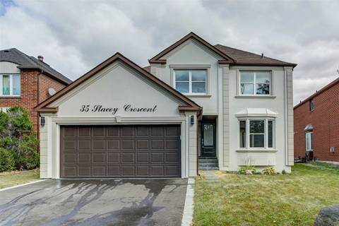 House for sale at 35 Stacey Cres Markham Ontario - MLS: N4481521