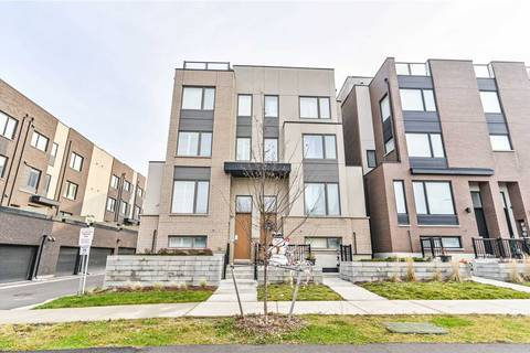 Townhouse for sale at 35 Stanley Greene Blvd Toronto Ontario - MLS: W4643689