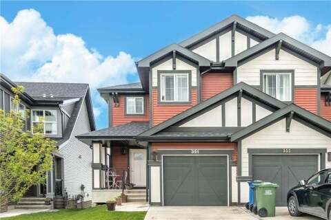Townhouse for sale at  351 Sunrise Vw  Cochrane Alberta - MLS: C4303729